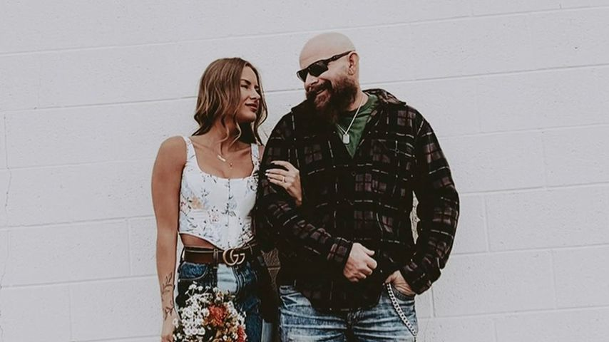Alexis Sharkey und ihr Partner Tom