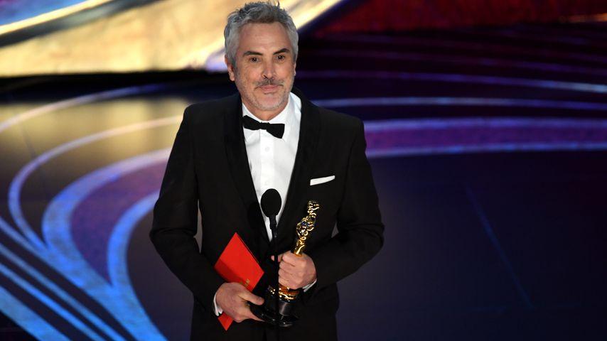 Alfonso Cuarón bei der Oscar-Verleihung 2019