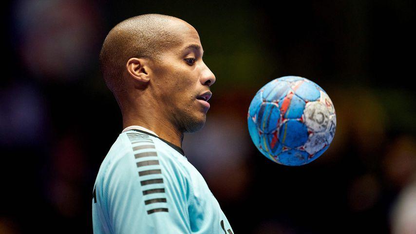 Alfredo Quintana bei der Handball-EM 2020