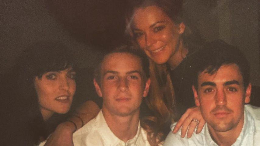 Ali, Dakota, Lindsay und Mike Lohan