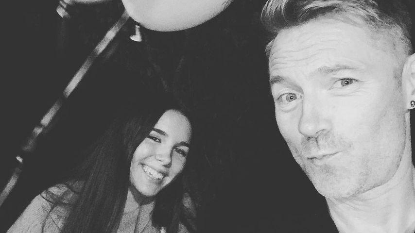 """Sweet 16"": Ronan Keating teilt seltene Pics mit Tochter Ali"