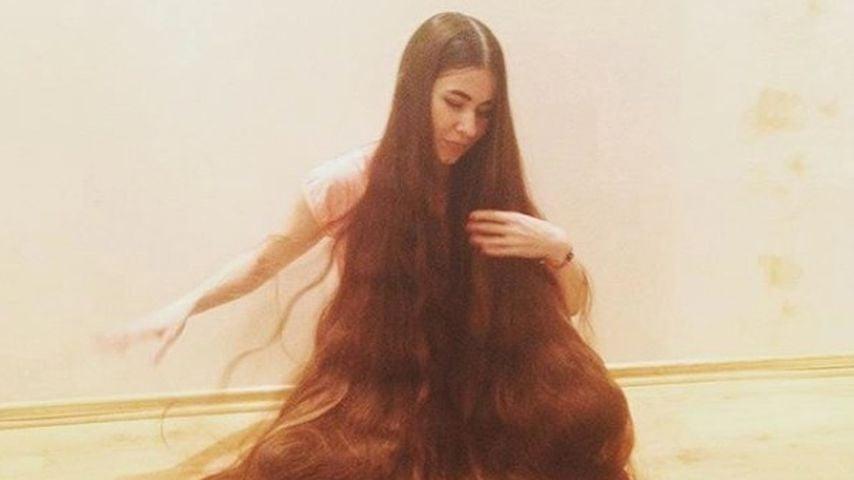 Real-Life-Rapunzel! Aliia (27) hat über 2 Meter lange Haare!