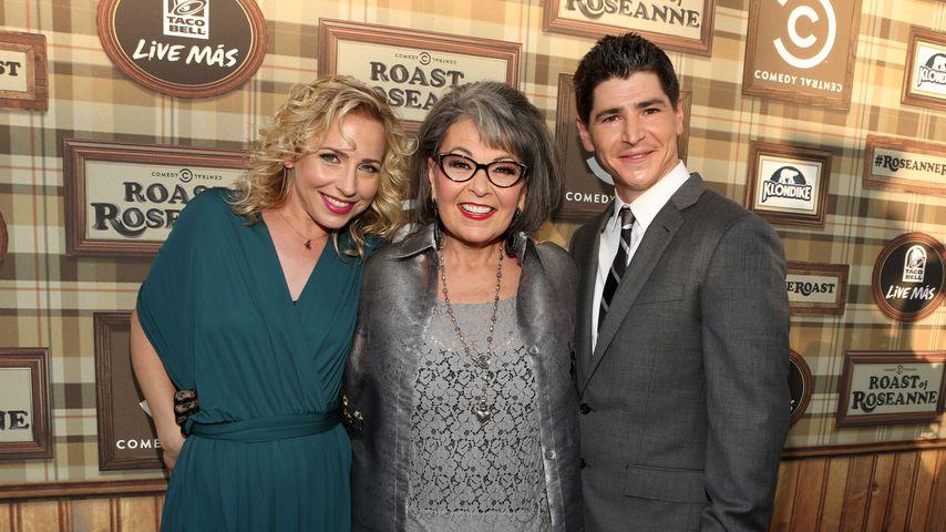 Alicia Goranson, Roseanne Barr und Michael Fishman