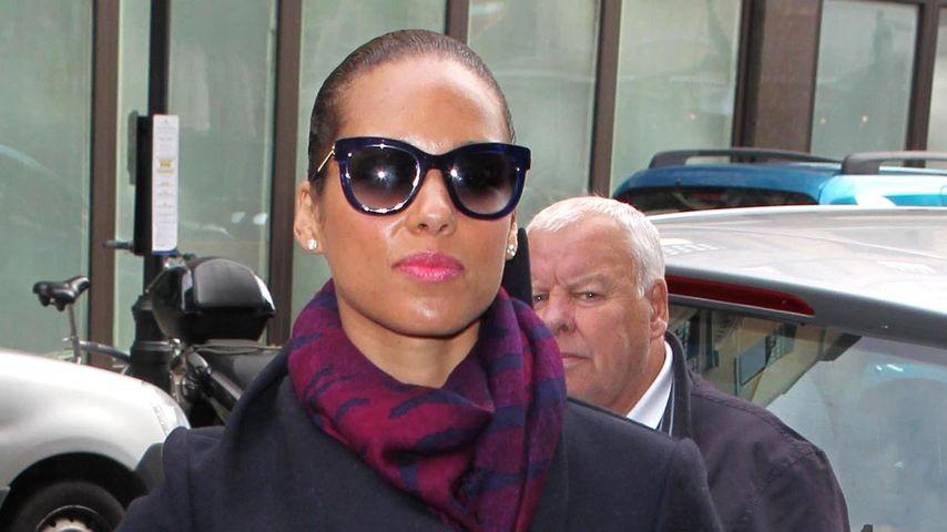 Alicia Keys wieder rank & schlank: Ihr Geheimnis!