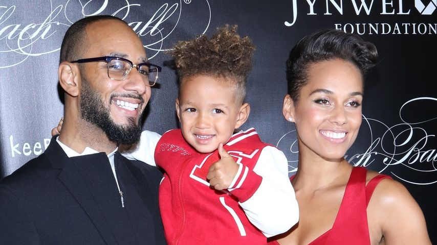Alicia Keys, Swizz Beatz und Egypt Dean