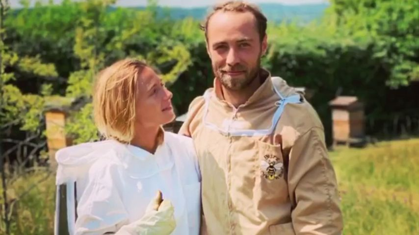 Alizee Thevenet und James Middleton im Juli 2020