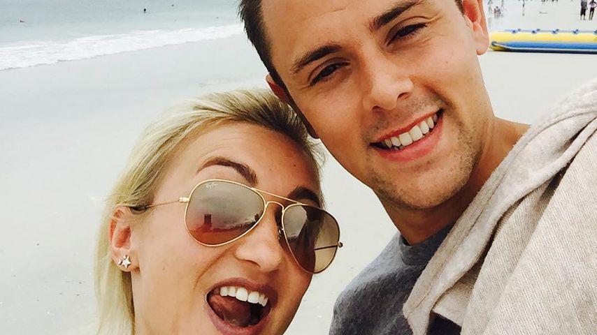 Aljona Savchenko und ihr Mann Liam Cross