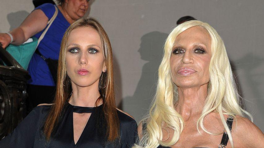 Corona: Donatella Versace und Tochter spenden 200.000 Euro