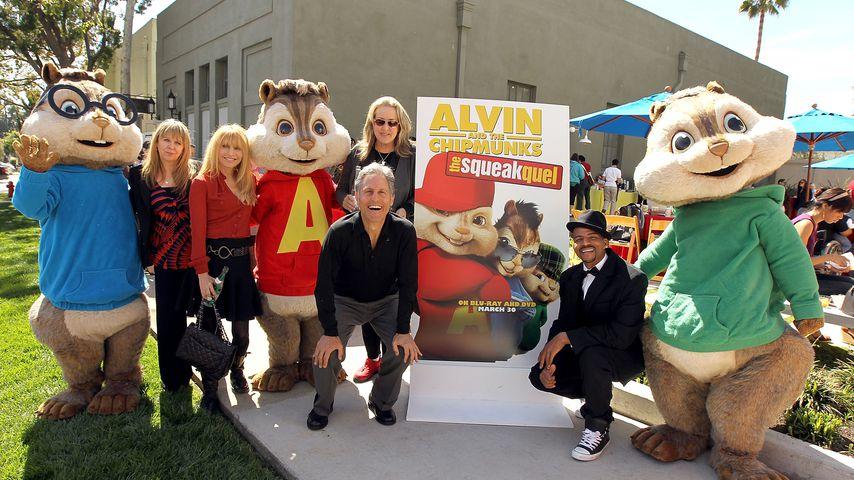 Drollig: Alvin & The Chipmunks bekommen Walk of Fame-Stern