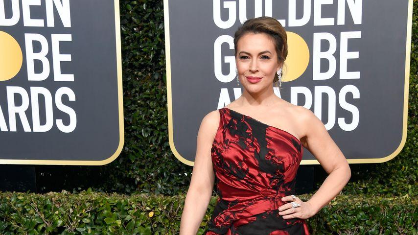 Alyssa Milano bei den Golden Globe Awards 2019