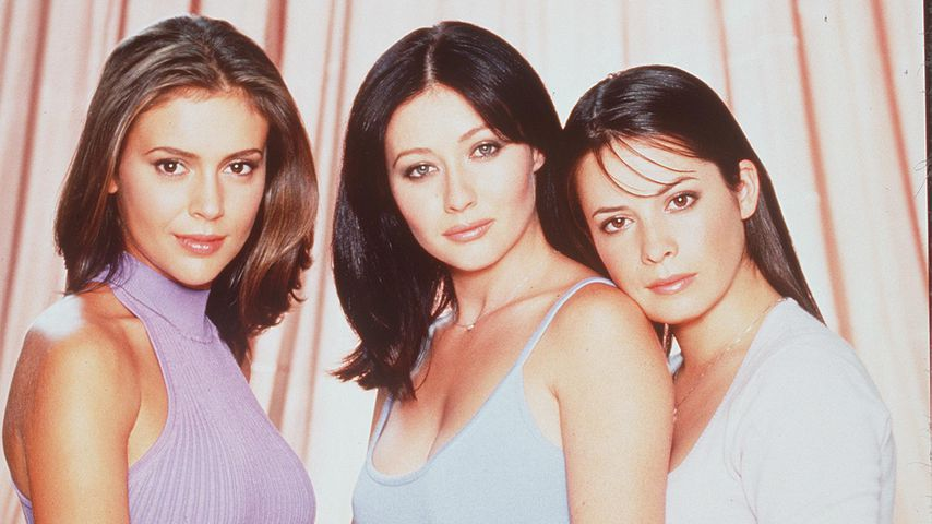 "Alyssa Milano, Shannen Doherty & Holly Marie Combs in ""Charmed"""