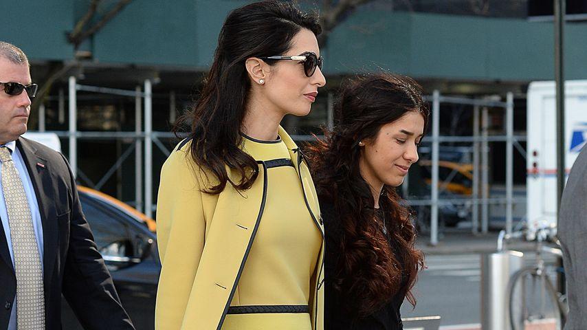 Amal Clooney in New York