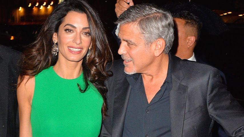 george clooney ultimative liebeserkl rung an seine amal. Black Bedroom Furniture Sets. Home Design Ideas