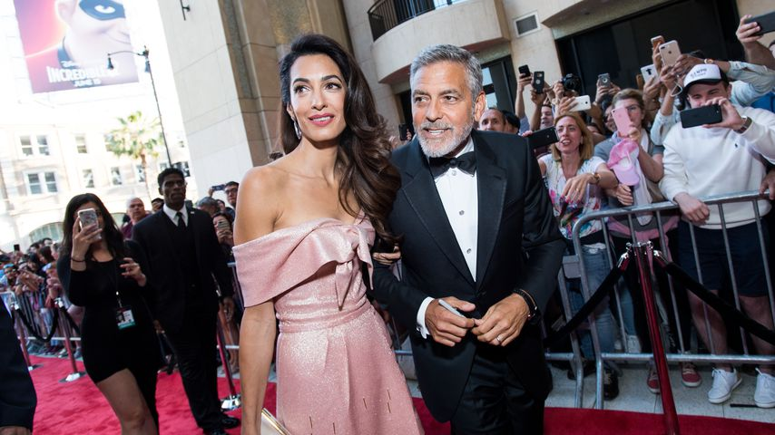 Amal und George Clooney in Los Angeles