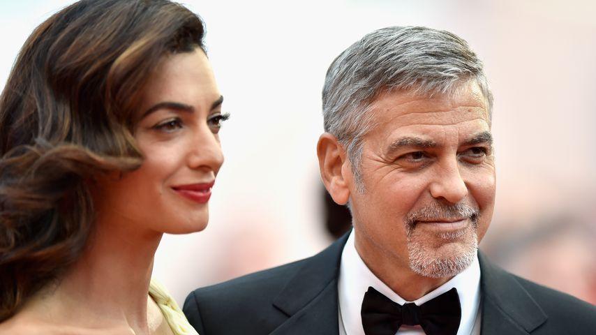 Wann kommen die Zwillinge? George & Amal ziehen sich zurück!