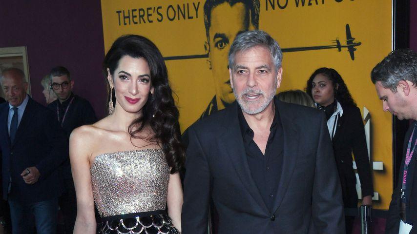 Fans können Doppel-Date mit Amal & George Clooney ersteigern
