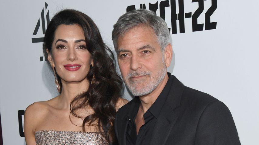 Amal und George Clooney im Mai 2019 in London