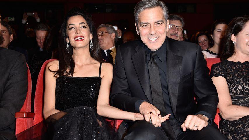 Amal und George Clooney auf der 66. Berlinale 2016