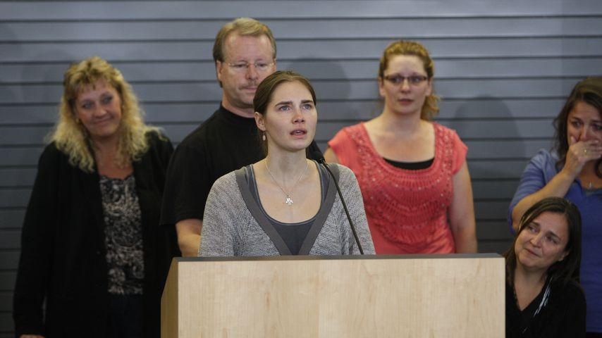28 Jahre Haft? Amanda Knox ist am Boden zerstört