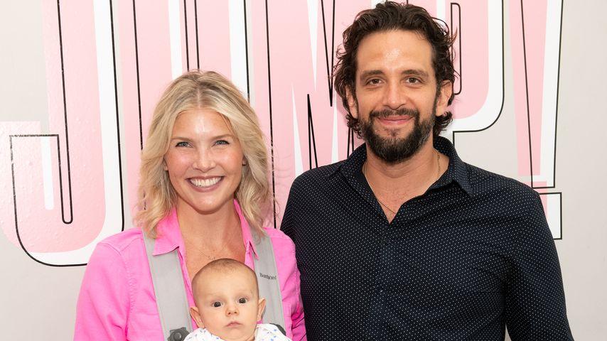 Amanda Kloots und Nick Cordero mit ihrem Sohn Elvis