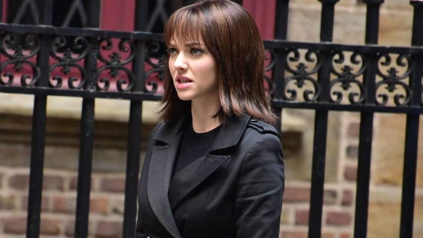"Amanda Seyfried am Set des Films ""Anon"" in New York"