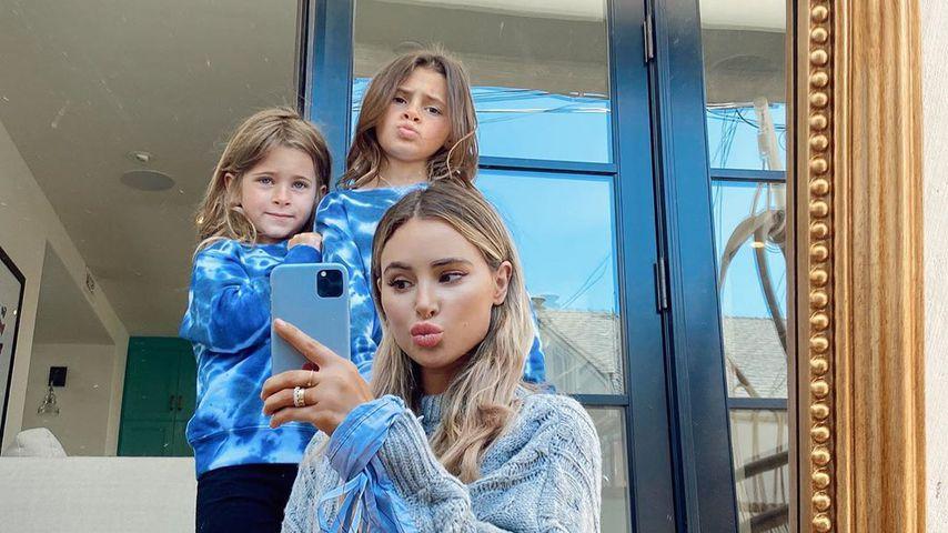 Amanda Stanton und ihre Töchter Charlie und Kinsley
