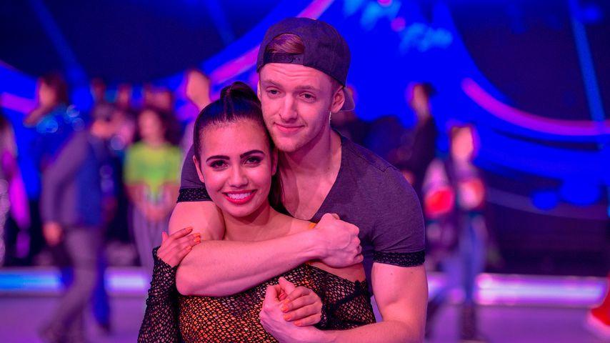 """Amani Fancy und Timur Bartels bei """"Dancing on Ice"""" 2019"""