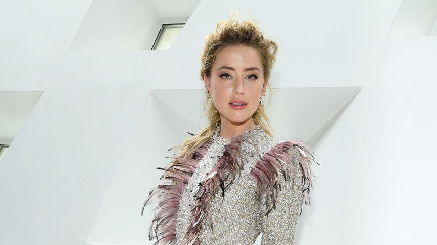 Amber Heard bei der Paris Fashion Week 2019