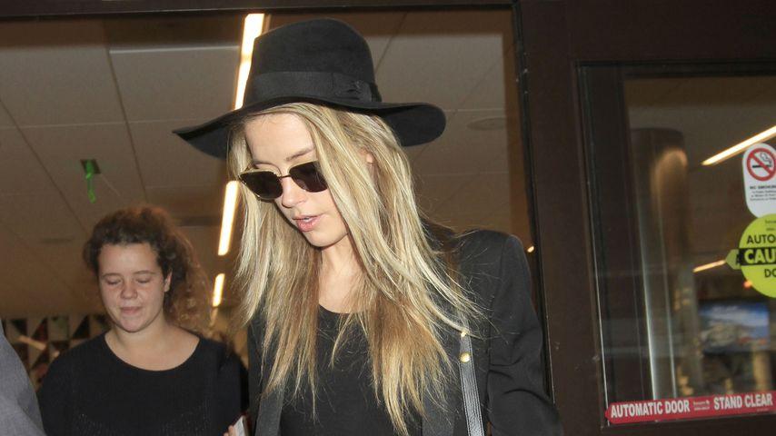 Amber Heard im August 2016 am Flughafen von Los Angeles