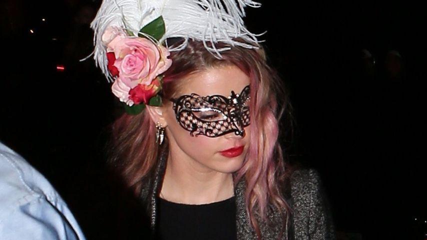 Amber Heard im Oktober 2016 auf dem Weg zu einer Halloween-Party in Malibu