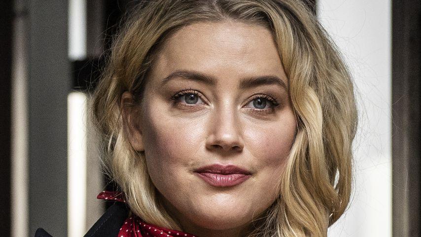 Amber Heard vor dem Gericht in London im Juli 2020