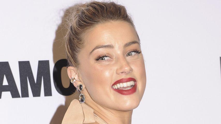 Amber Heard: 1. Red-Carpet-Auftritt seit der Scheidung