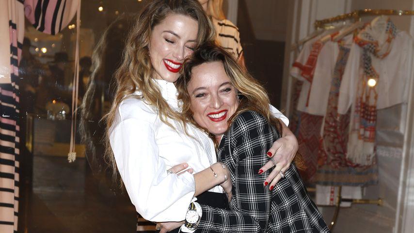Gestatten, Frau Depp: So happy ist Amber Heard