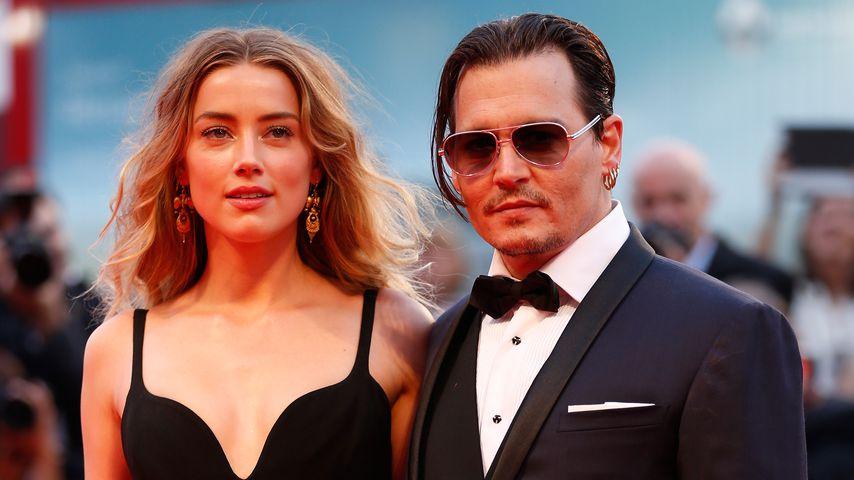 Amber Heard und Johnny Depp, 2015