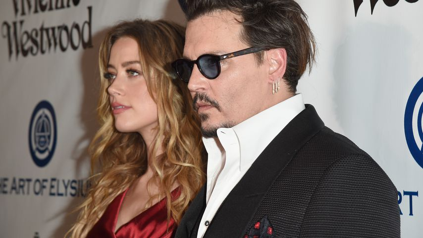 Amber Heard und Johnny Depp 2016