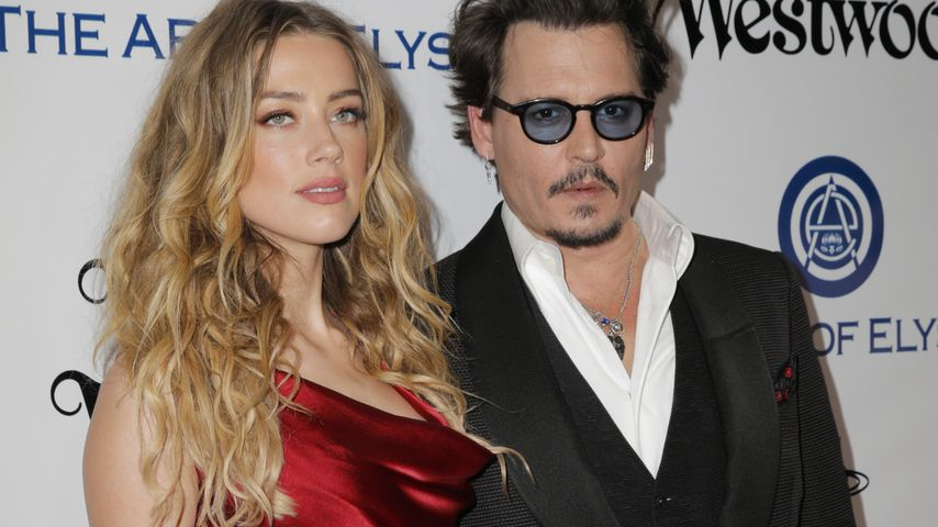 Amber Heard und Johnny Depp, 2016