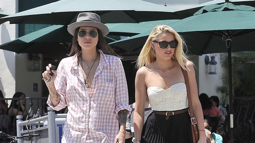 Amber Heard: Nach der Trennung zurück zur Ex?