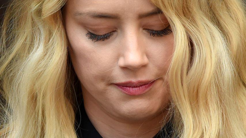 Amber Heard vor einem Gericht in London im Juli 2020