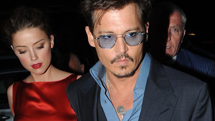 Johnny Depp & Amber: Krise oder Wolke Sieben?