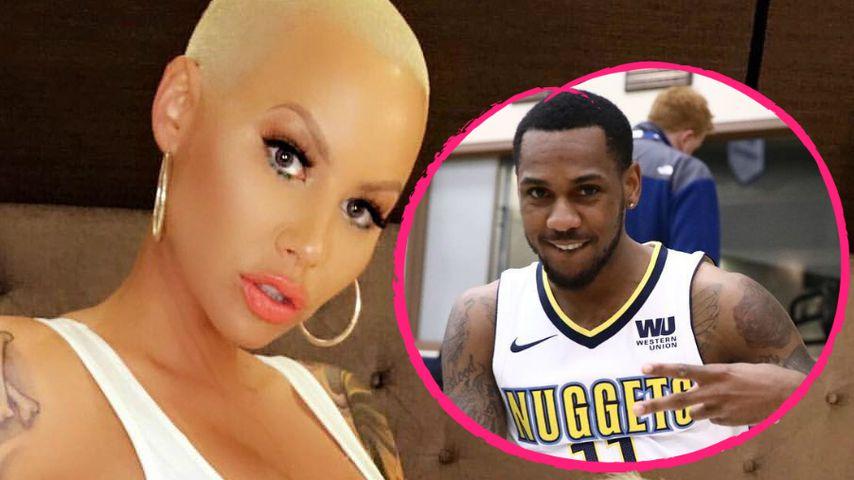 Ein Basketball-Spieler: Hat Amber Rose einen neuen Freund?