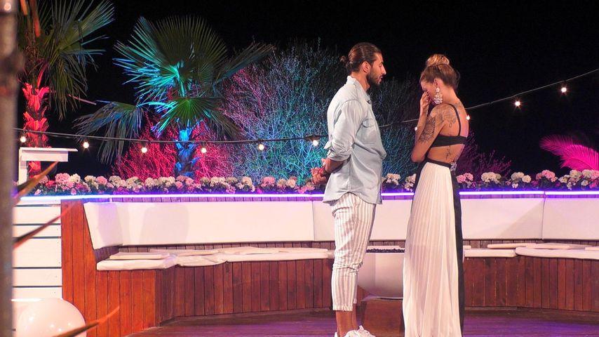 """Amin und Denise in der achten """"Love Island""""-Folge"""