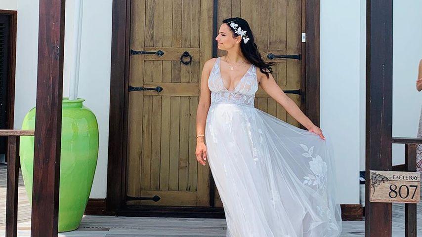 Brautkleid-Bild: Bestätigt Amira Hochzeit mit Oli Pocher?