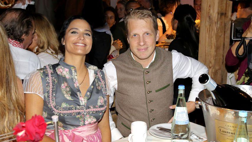 Amira M. Aly und Oliver Pocher 2019 auf dem Oktoberfest