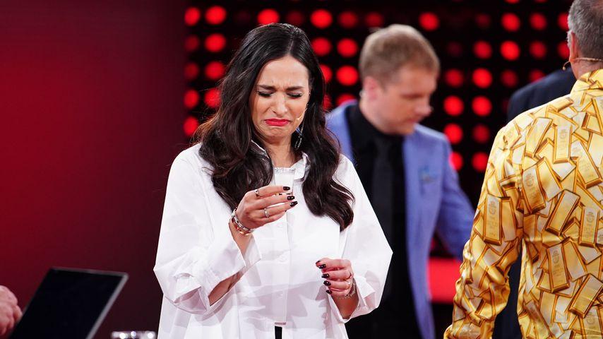 """Amira Pocher bei """"5 gegen Jauch"""""""