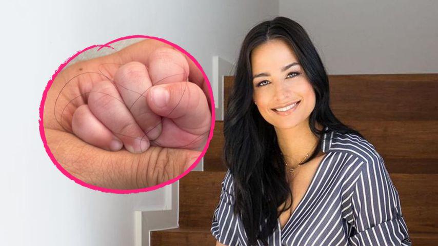 Amira Pocher witzelt: Sohn ist wahrer Grund für Haarausfall