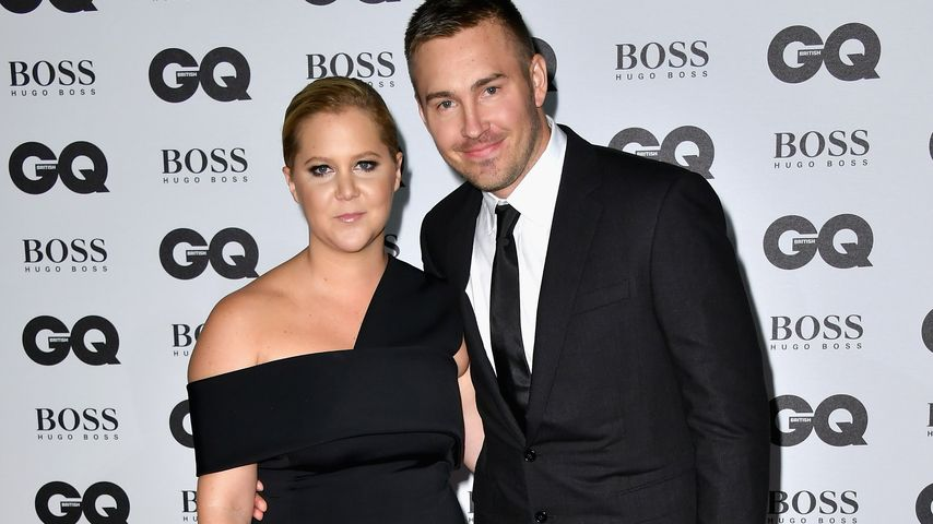 Amy Schumer und Ben Hanisch bei GQ Men Of The Year Awards 2016 in London