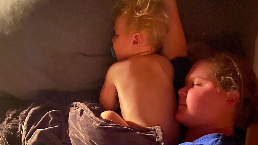 Amy Schumer und ihr Sohn Gene im November 2020