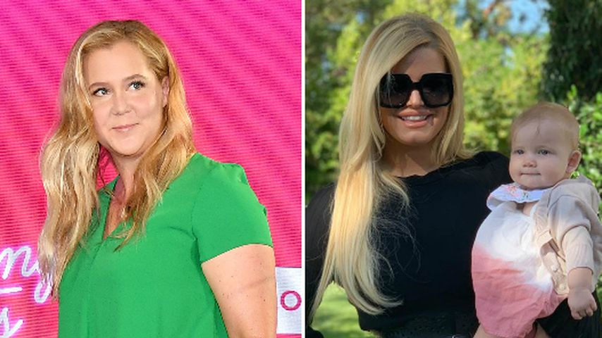 Amy Schumer neidisch auf Jessica Simpsons After-Baby-Body?