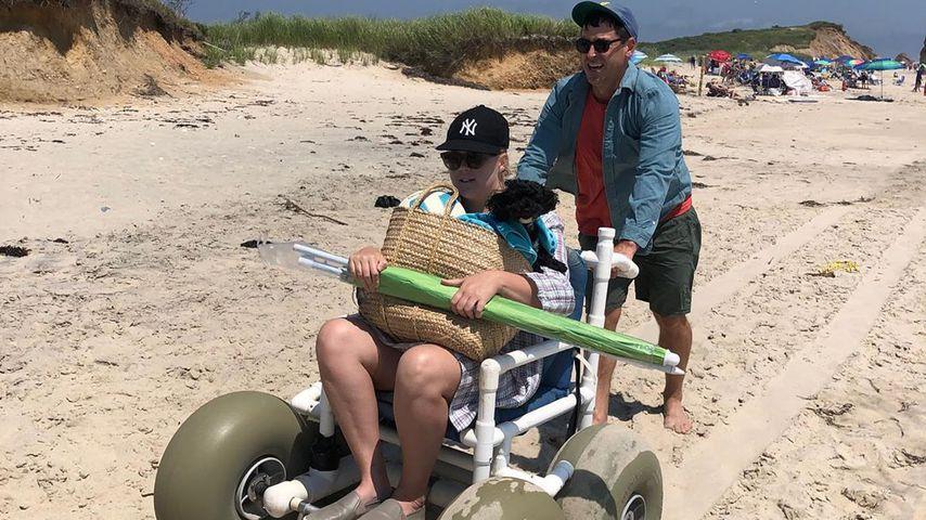 Amy Schumer und Ehemann Chris Fischer im Juli 2019