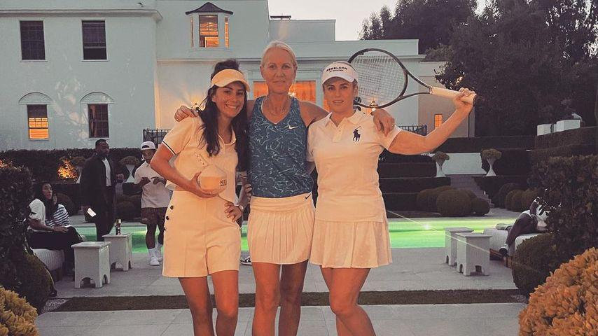 Sängerin Amy Shark, Tennistrainerin Rennae Stubs und Schauspielerin Rebel Wilson